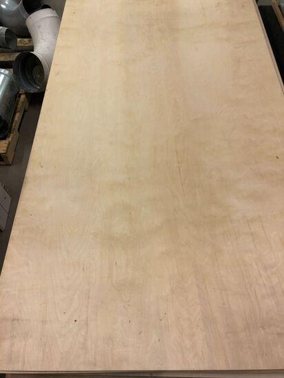 """(10) 4' x 8' x 1/4"""" Birch Plywood"""