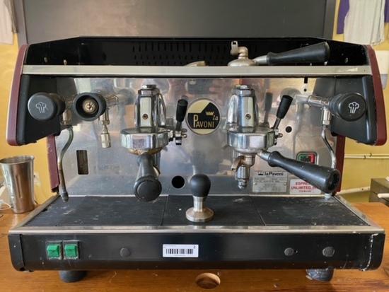 La Pavoni BAR 2-Group Espresso Machine