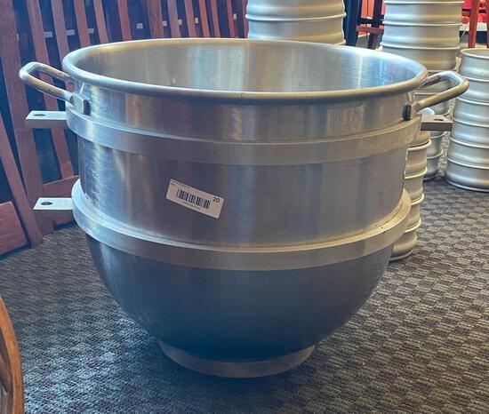 60 Quart SS Hobart Mixer Bowl