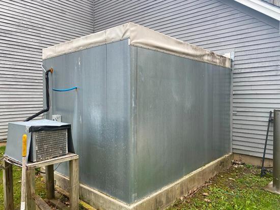 Carrol Coolers Inc. 8' x 12' Walk-In Cooler