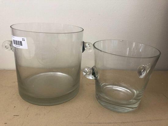 (2) Tiffany Ice Buckets