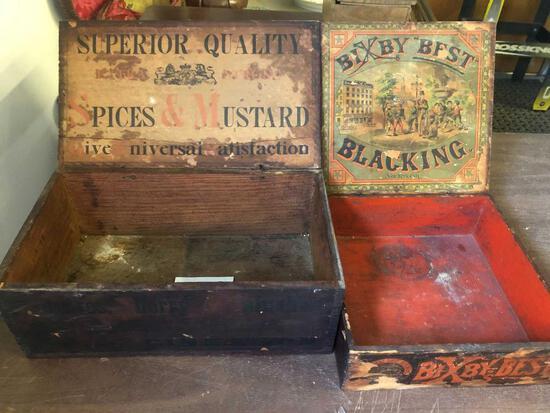 (2) Advertising Boxes