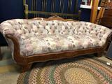 Walnut Victorian Sofa