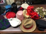 (16) Vintage Hats