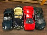 (4) Diecast 1/18th Sports Cars, Lamb., BME, Porsche, etc