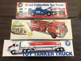 (3) Gas Promotional Trucks in Boxes