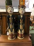 Chinese Carved and Polychrome Figures