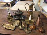 13-Piece Brass Grouping