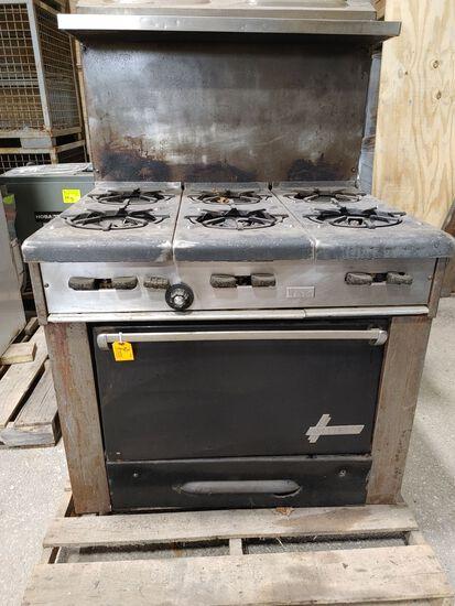 Garland 6-Burner Range Oven