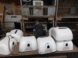 (6) Xlerator Electric Hand Dryers