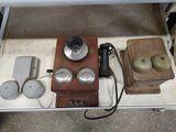 Vintage Western Electric Wallmount Telephone