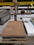 Vintage Countertop 100lb. Platform Scale