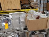 (10 Asst. Glass Storage Canisters