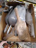 (10) Asst. Aluminum & Poly Bakers Scoups