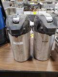 (2) Bunn Air Pots