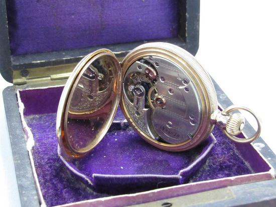 14K Yellow Gold Case Pocket Watch