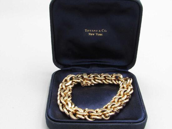 14K Yellow Gold Tiffany & Co. Bracelet