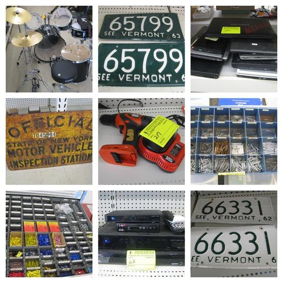 (1315) Hardware, Fasteners & Household Goods