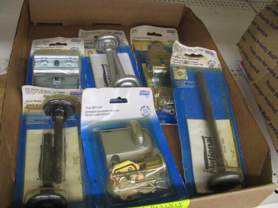 (6) Garage Door Replacement Rollers & Hinges