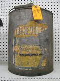 Vintage SA Harps Oil Can