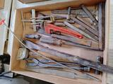Asst. Coal Chisels, Screwdrivers & Wrenches