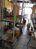 (2) Poly Shelf Units