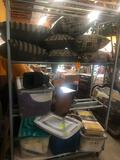 (2) Rolling Shelf Units