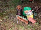Asst. Poly Tubs, Soil, Fertilizer & Tomato Cages