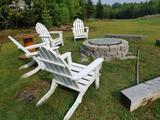 (4) Painted Adirondack Chairs
