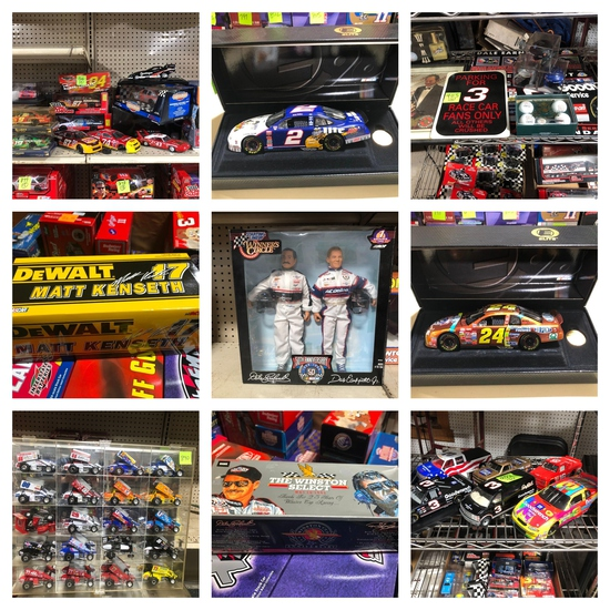 (1320) Diecast Toys & NASCAR Collectibles Wave 3