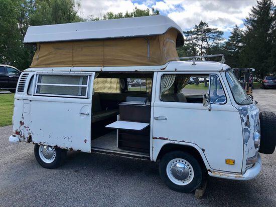 1972 Volkswagen Sportsmobile Camper