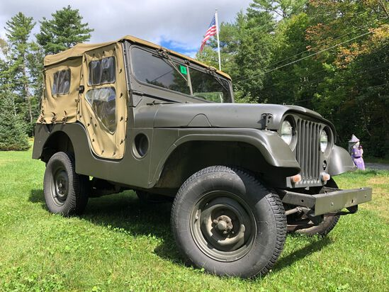 1955 Willys M38A1 (NO RESERVE!!)