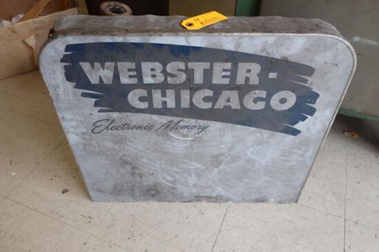 Vintage Webster-Chicago Electronic Memory Display