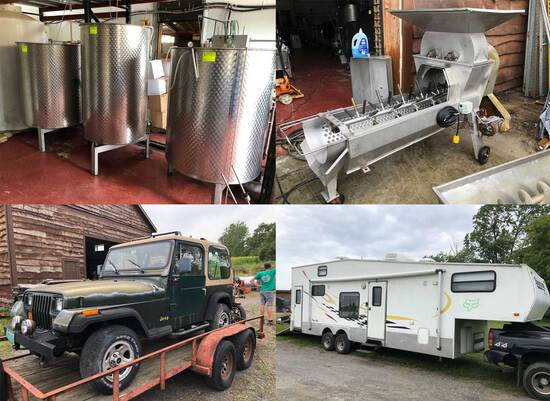 (1334) Commercial Winery, Brewery, Rest. Equip.,
