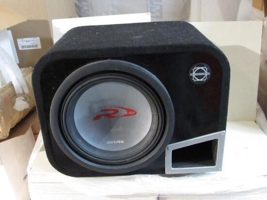 Alpine Bassworx Car Speaker