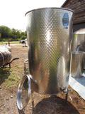 1000 liter +/- Variable Capacity Toscana Inox Tank