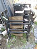 Steel Barrel Rack