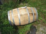 20 Gallon Oak Barrel for Display Only