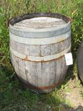 70 Gallon Oak Barrel for Display Only