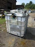 275 Gallon Poly Tank w/ Aluminum Frame