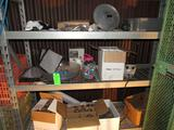 Contents of (3) Shelves of Wire Rack