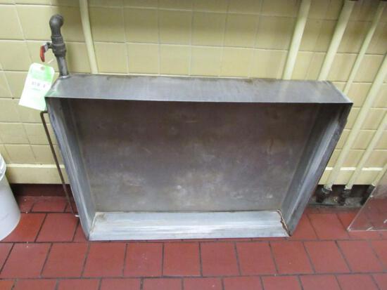 SS Range Top Water Bath w/ Draw Off