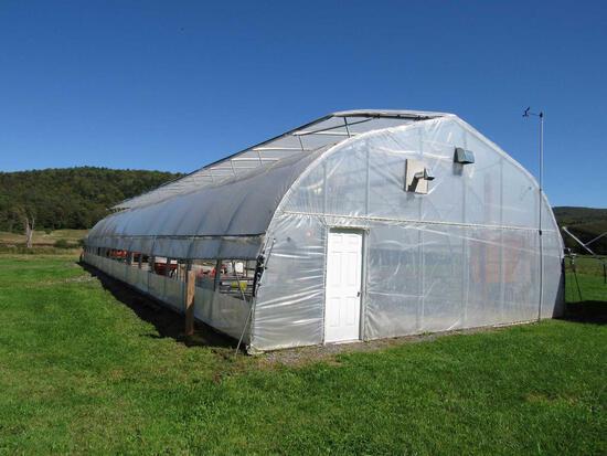 35' x 96' Harnois Greenhouse