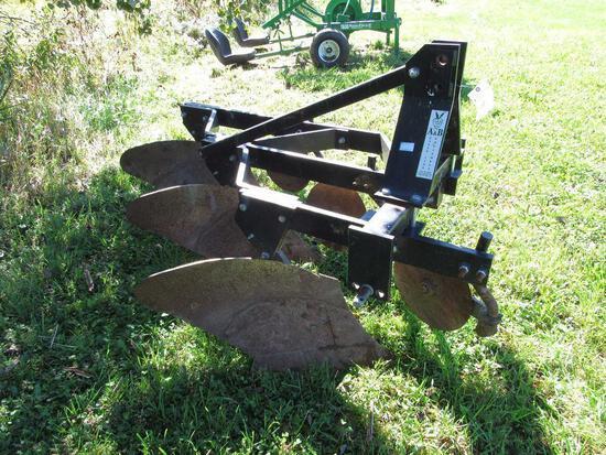 A&B Eagle Line Equipment Three Bottom Plow