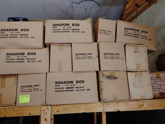 20 +/- Cases Shadow Boxes