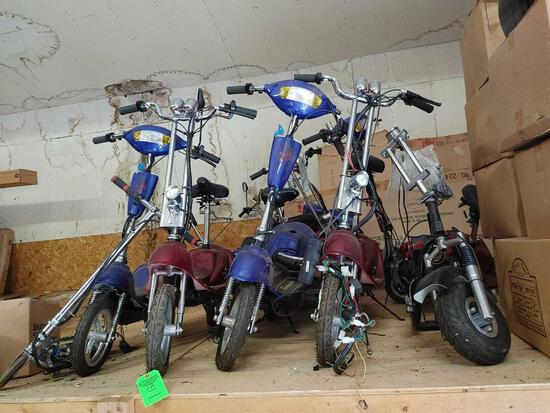 12 +/- Electric Scooters