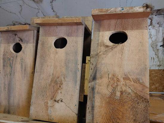 3 Homemade Birdhouses