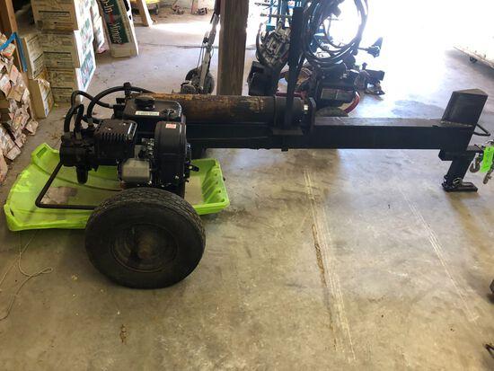 Gas Powered Wood Splitter