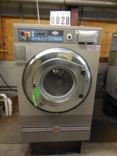 2001 Milnor 50lb Commercial Washing Machine Model 30022H8J