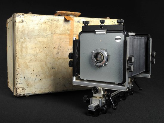 Ansel Adams Arca-Swiss 4 x 5 view camera outfit